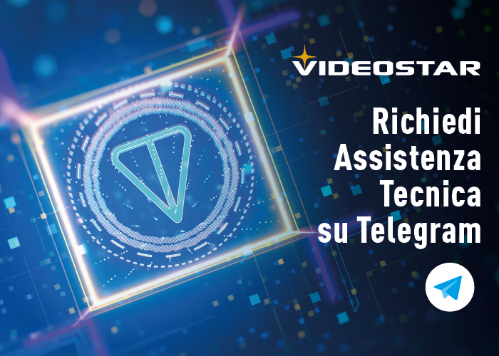 Contattaci su Telegram per assistenza tecnica