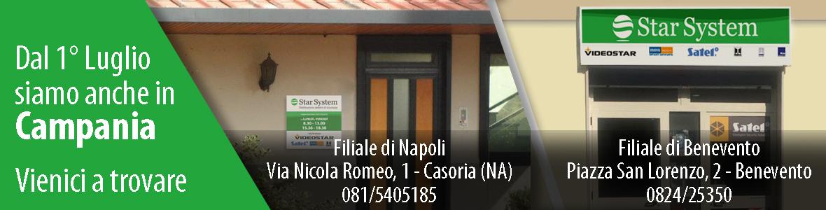 Nuove filiali Campania